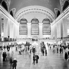 Grand Central Station 1, New York City - Black and White Fine Art Photography