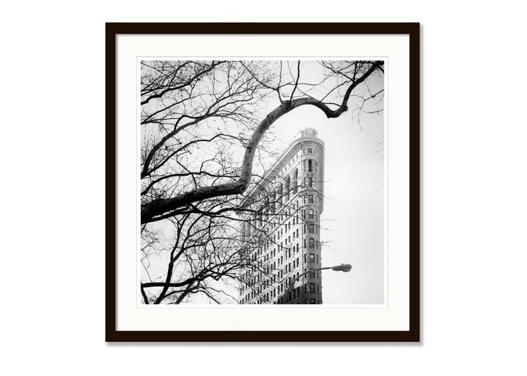 Flatiron Building 1, New York City, USA - Black and White Fine Art Photography For Sale 2