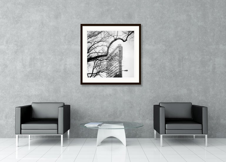 Flatiron Building 1, New York City, USA - Black and White Fine Art Photography For Sale 3