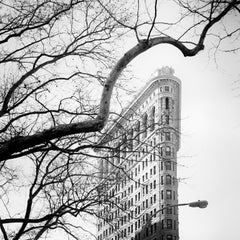 Flatiron Building 1, New York City, USA - Black and White Fine Art Photography