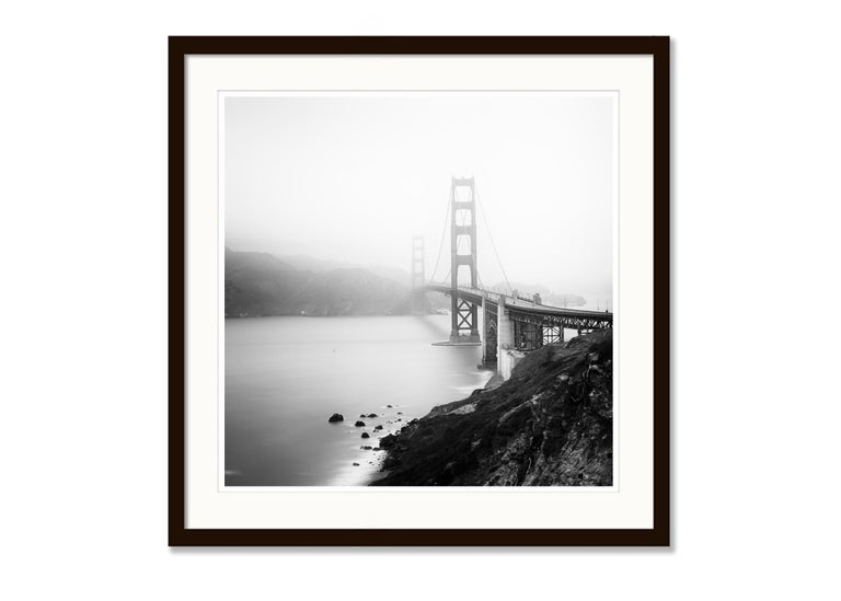 Golden Gate Study 12, San Francisco, USA - Black and White Fine Art Photography For Sale 2