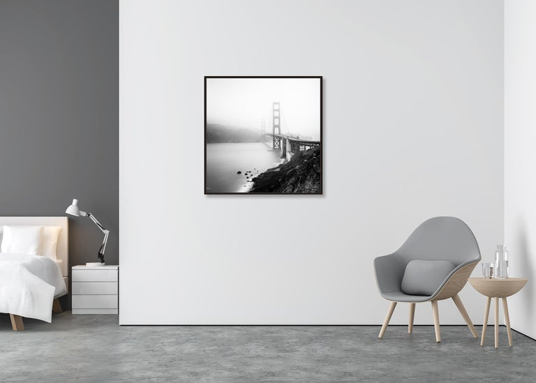 Golden Gate Study 12, San Francisco, USA - Black and White Fine Art Photography For Sale 1