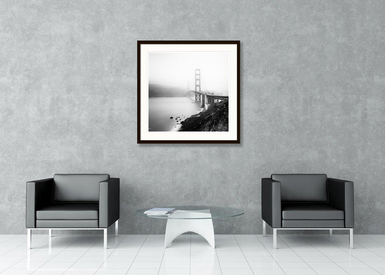 Golden Gate Study 12, San Francisco, USA - Black and White Fine Art Photography For Sale 3
