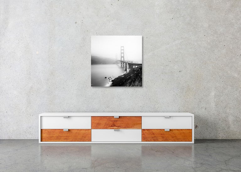 Golden Gate Study 12, San Francisco, USA - Black and White Fine Art Photography For Sale 4