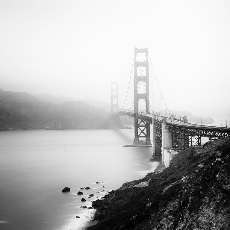 Gerald Berghammer, Ina Forstinger Black and White Photograph - Golden Gate Study 12, San Francisco, USA - Black and White Fine Art Photography