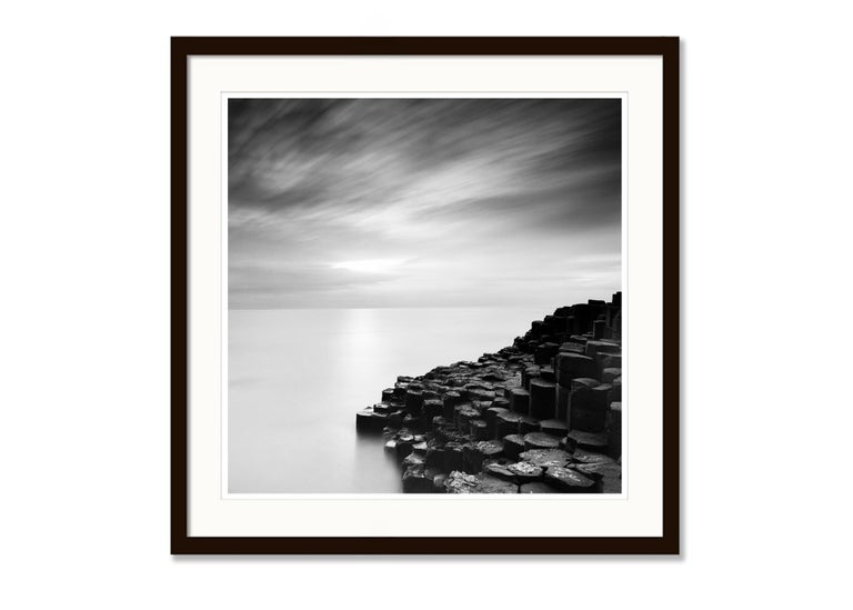 Giants Causeway 2, Ireland - Black and White Long Exposure Fine Art Photography For Sale 2