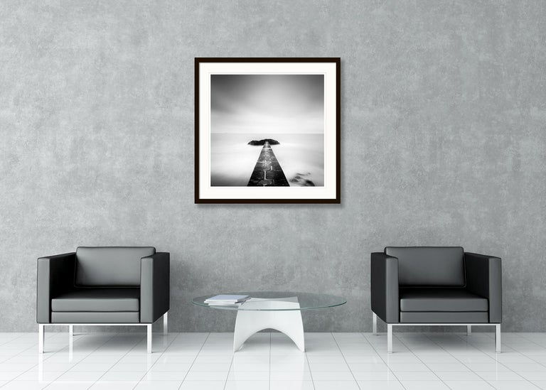 Black End, France - Black and White fine art long exposure analogue photography For Sale 1