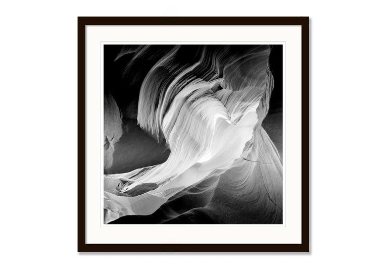Heart, Antelope Canon, Arizona, USA - Black and White Fine Art Film Photography For Sale 3