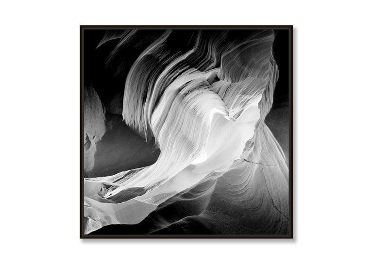 Heart, Antelope Canon, Arizona, USA - Black and White Fine Art Film Photography For Sale 1