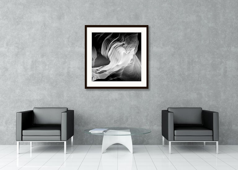 Heart, Antelope Canon, Arizona, USA - Black and White Fine Art Film Photography For Sale 4