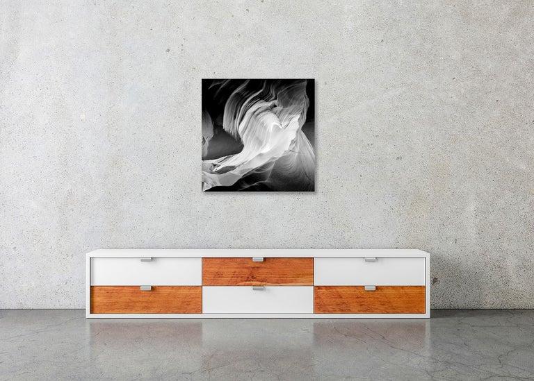 Heart, Antelope Canon, Arizona, USA - Black and White Fine Art Film Photography For Sale 5