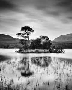 After the Sunset, Island, Scotland, black and white art photography, landscapes