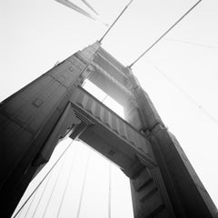 Golden Gate 2, San Francisco  - Black and White Fine Art Analog Film Photography