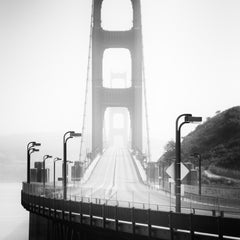 Golden Gate, San Francisco, USA - Black and White fine art cityscape photography