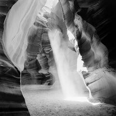 Antelope Canyon, Arizona, USA - Black and White Fine Art Landscape Photography