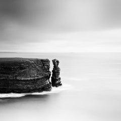 Split Rock, Scotland, natural wonder, black and white photography, landscapes