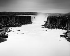 Dettifoss Study 1, Iceland - B&W Long Exposure Fine Art Landscape Photography