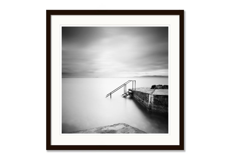 Four Steps Down, Ireland - Black and White Long Exposure Fine Art Photography For Sale 2