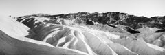 Shadow Mountains, Death Valley, USA, black and white photography, landscapes