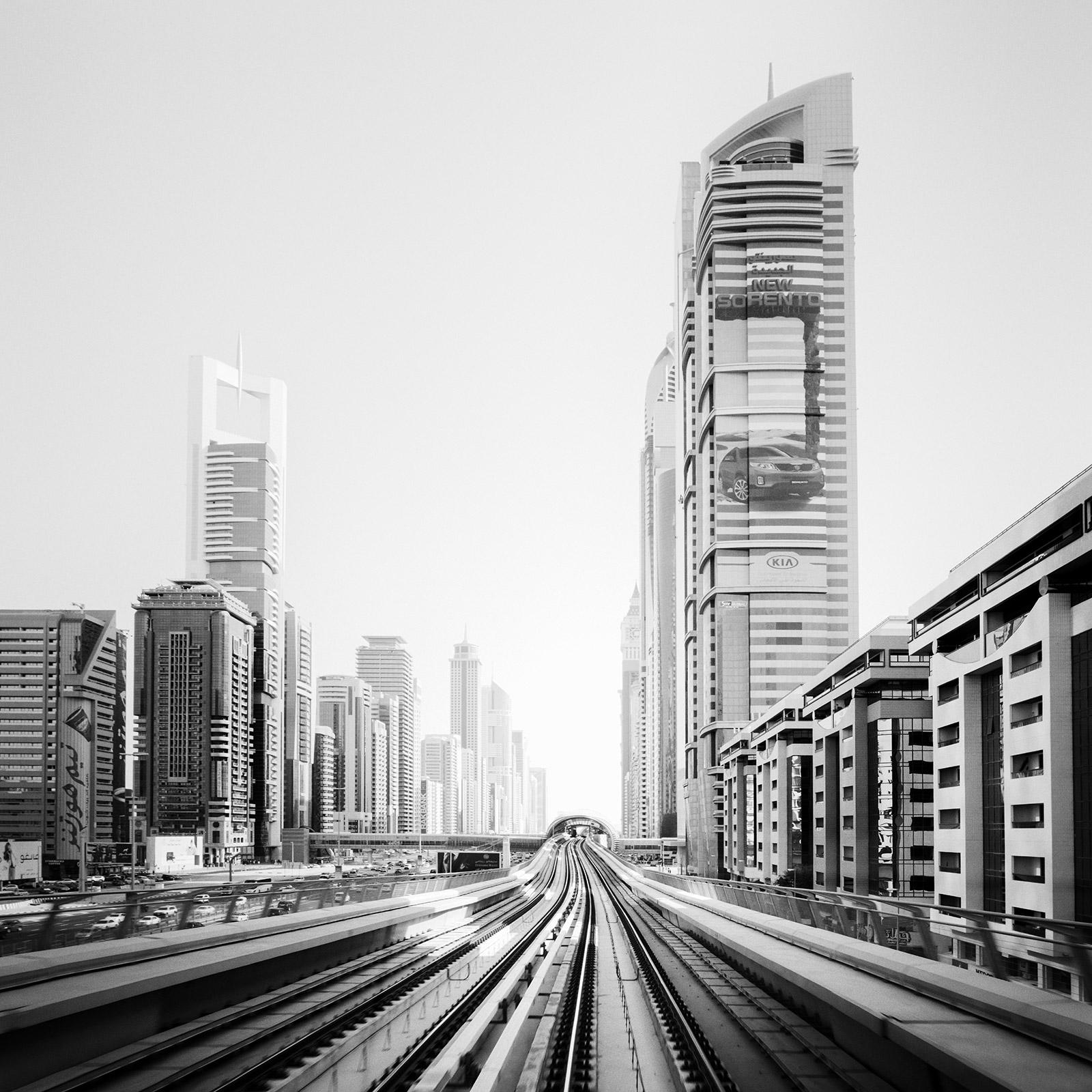 New Sorento, Dubai Mega City contemporary black and white photography landscapes