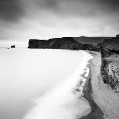 Detached Island, Iceland - Black and White fine art long exposure landscapes
