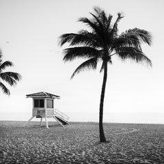 Tommy loves Aaron, beach, Florida, USA, black and white photography, landscapes