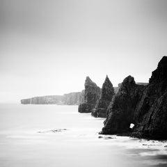 Duncansby Stacks scottish coast Scotland black and white photography, landscapes