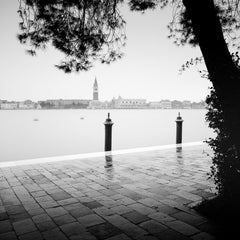 Piazza San Marco, Venice, Canal Grande, black and white photography, landscapes