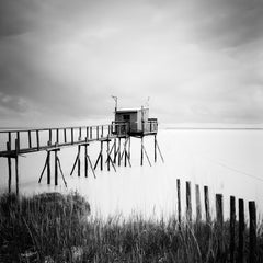 No.: 80915, France - Black and White Fine Art Long Exposure Analog Waterscapes
