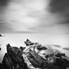 Old Pier, Ireland - B&W Fine Art Long Exposure Analogue Waterscapes Photography