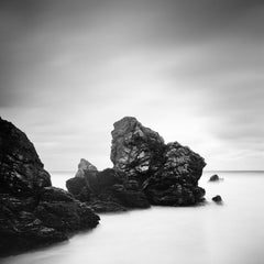Award Winning Beach, Scotland, fine art black and white photography, landscape