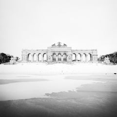 Gloriette Winter, Vienna, Schloss Schönbrunn, black and white art photography
