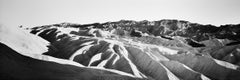 Shadow Mountains Panorama, CA, USA - Black & White Fine Art Abstract Photography