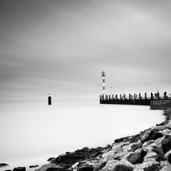 Port List, Sylt, North Sea, Germany, black and white photography, landscapes