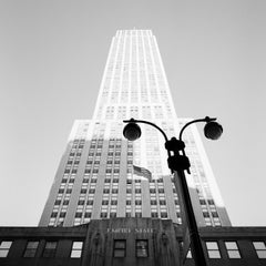 Empire State Building, New York City, black and white photography, landscapes