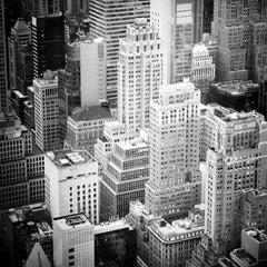 Manhattan #2, New York City, USA - Black and White fine art cityscape art prints