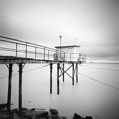 No. 80914, France - Black and White Fine Art Long Exposure Waterscapes Prints