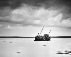 Stranded, Ireland, long exposure black and white art photography, landscapes