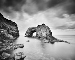 Great Pollet Sea Arch, Ireland, black and white fine art photography, landscapes