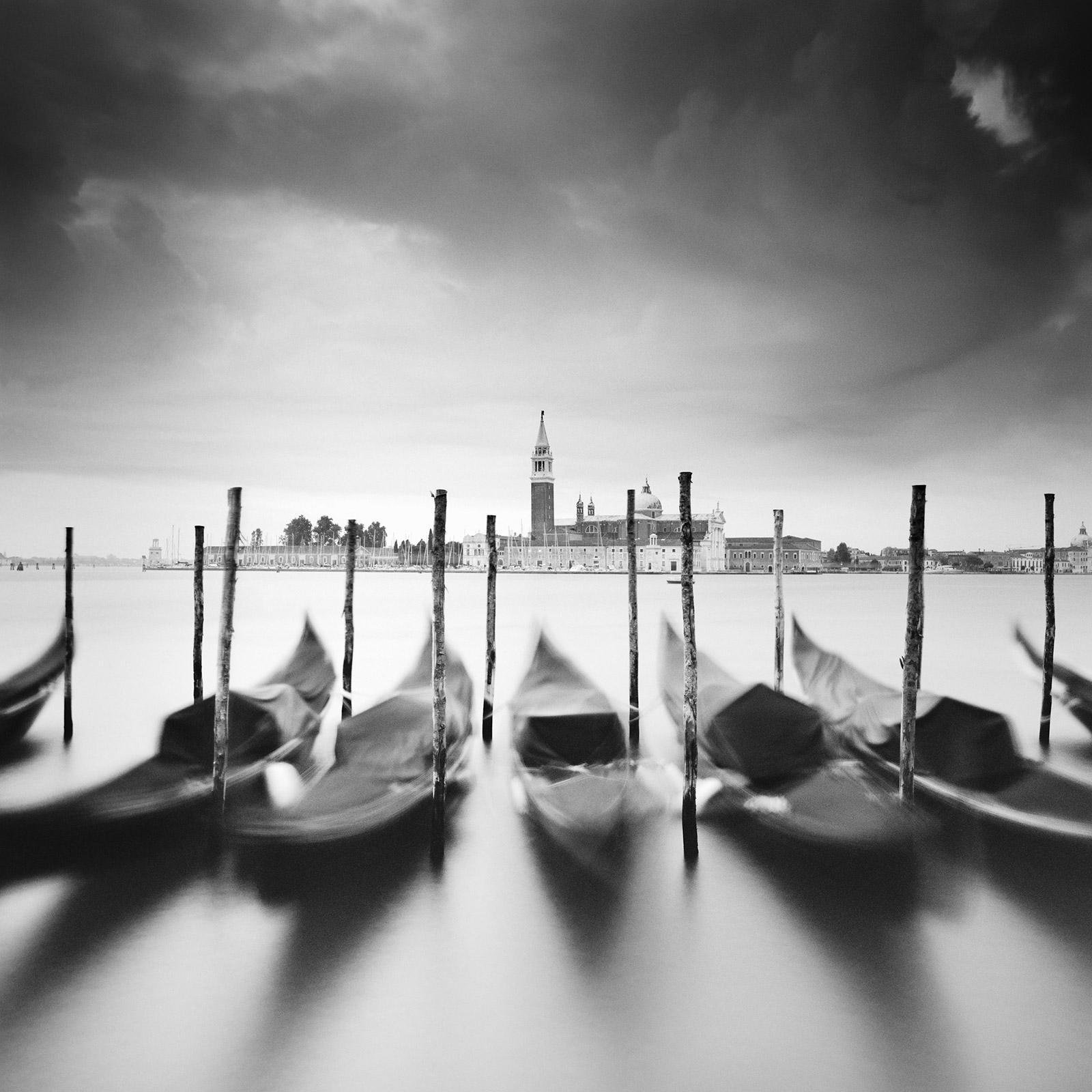 Basilica di San Giorgio Maggiore, Venice, fine art black and white photography