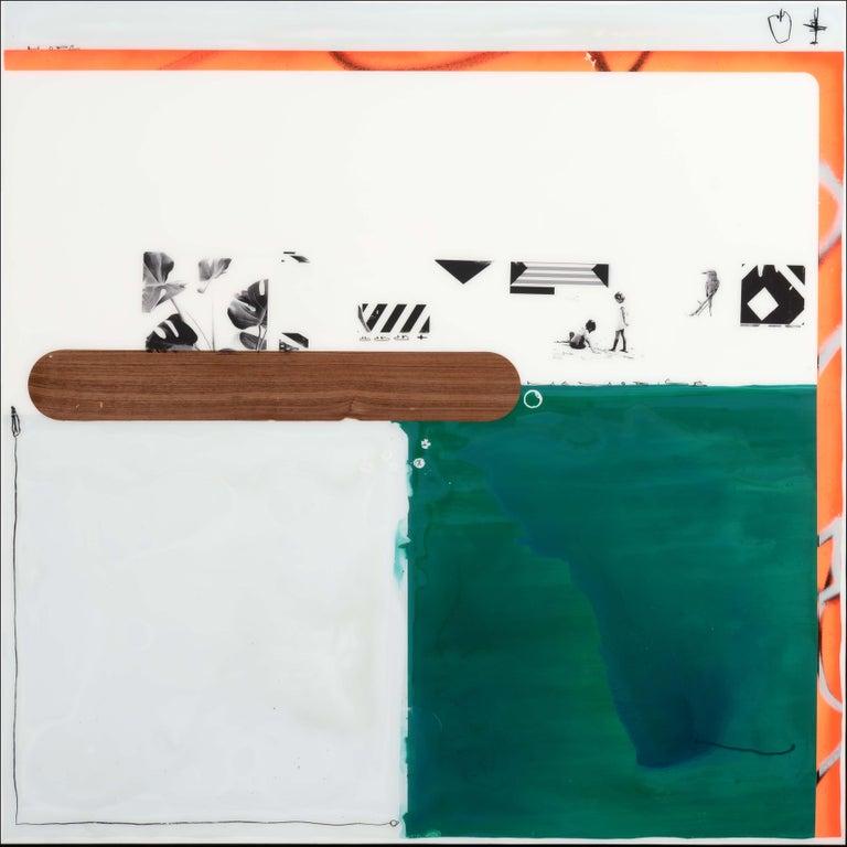 Edouard Buzon Abstract Painting - Memories