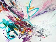 FOLDED by John Beard. Graffiti Abstract Art, Original and Hand Painted on Canvas