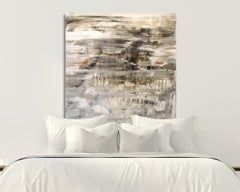 "ARMADA, Fine Art with Artist Hand Embellished on Giclee Canvas: 48""H x 48""W"