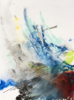 BURN, Fine Art with Artist Hand Embellished on Giclee Canvas Made to Order