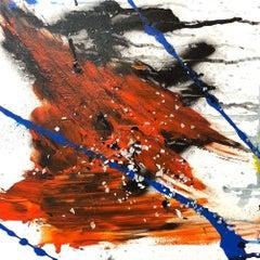 "GYPSUM, Fine Art with Artist Hand Embellished on Giclee Canvas: 48""H x 48""W"
