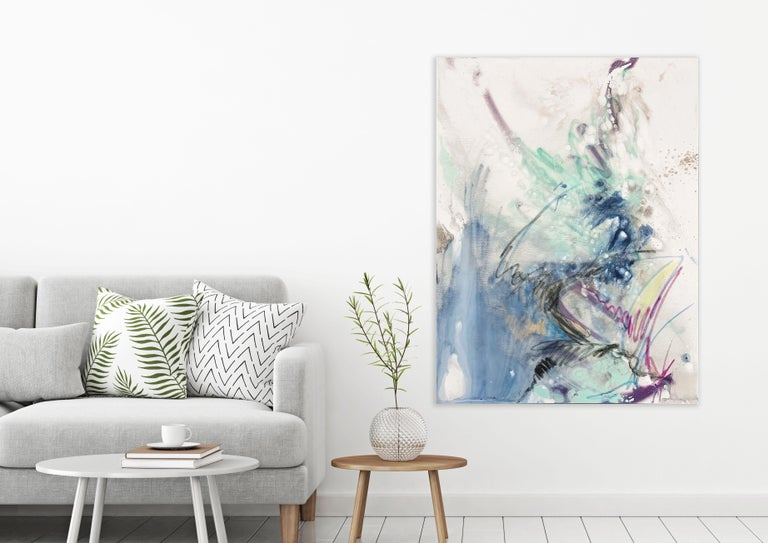 HEAR ME, Fine Art with Artist Hand Embellished on Giclee Canvas: 60