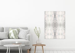"SPECTRUM, Contemporary Black and White Fine Art on Giclee Canvas: 48""H x 36""W"