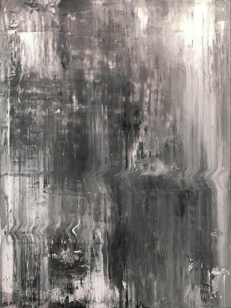 154 II by John Beard. Abstract Art, Original and Hand Painted on Canvas For Sale 1