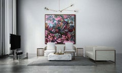 AVIARY II by John Beard. Abstract Art, Original and Hand Painted on Canvas