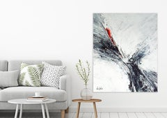 FATHOM by John Beard. Large Abstract Art, Original and Hand Painted on Canvas